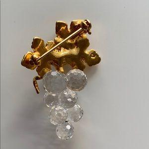 Swarovski Jewelry - Swarovski Crystal Memories grape cluster brooch